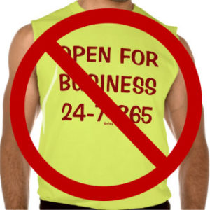 Always open for business shirt   Jolly Homes Team at Resident Realty