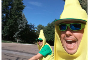 Jolly Homes Team in Banana Costumes | Jolly Homes Team at Resident Realty